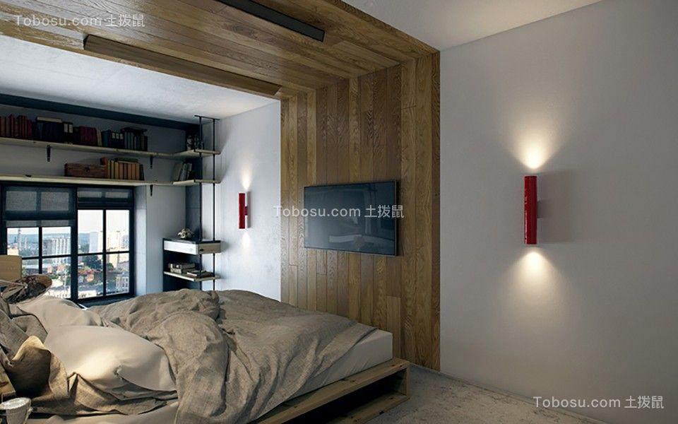 2019现代卧室装修设计图片 2019现代飘窗图片