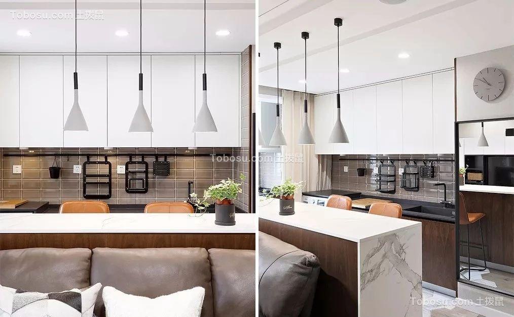 2019现代厨房装修图 2019现代背景墙装修效果图大全