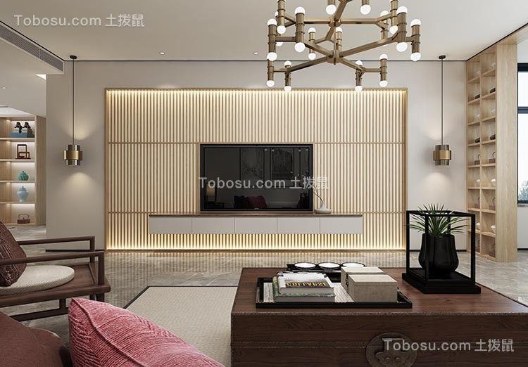 2019日式客厅装修设计 2019日式背景墙图片