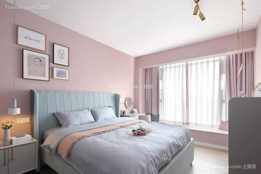2020北欧卧室装修设计图片 2020北欧飘窗图片
