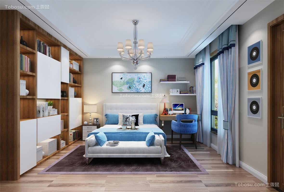 2019新中式儿童房装饰设计 2019新中式床效果图