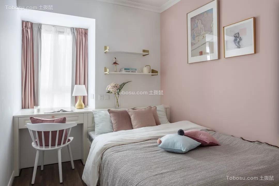 100平米清新美式3室2厅,演绎精致优雅的小情调