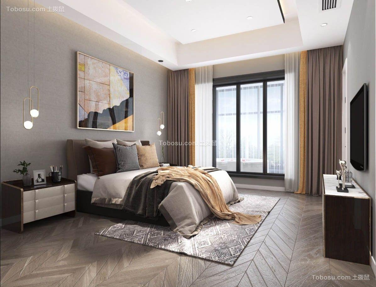 2019现代欧式卧室装修设计图片 2019现代欧式落地窗图片