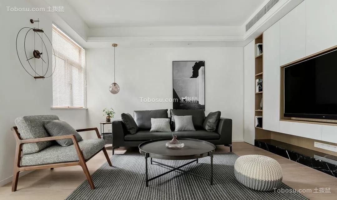 88㎡现代主义2室2厅,简约随性演绎质感生活