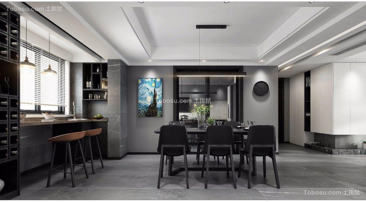 2021后现代餐厅效果图 2021后现代餐桌装修图片