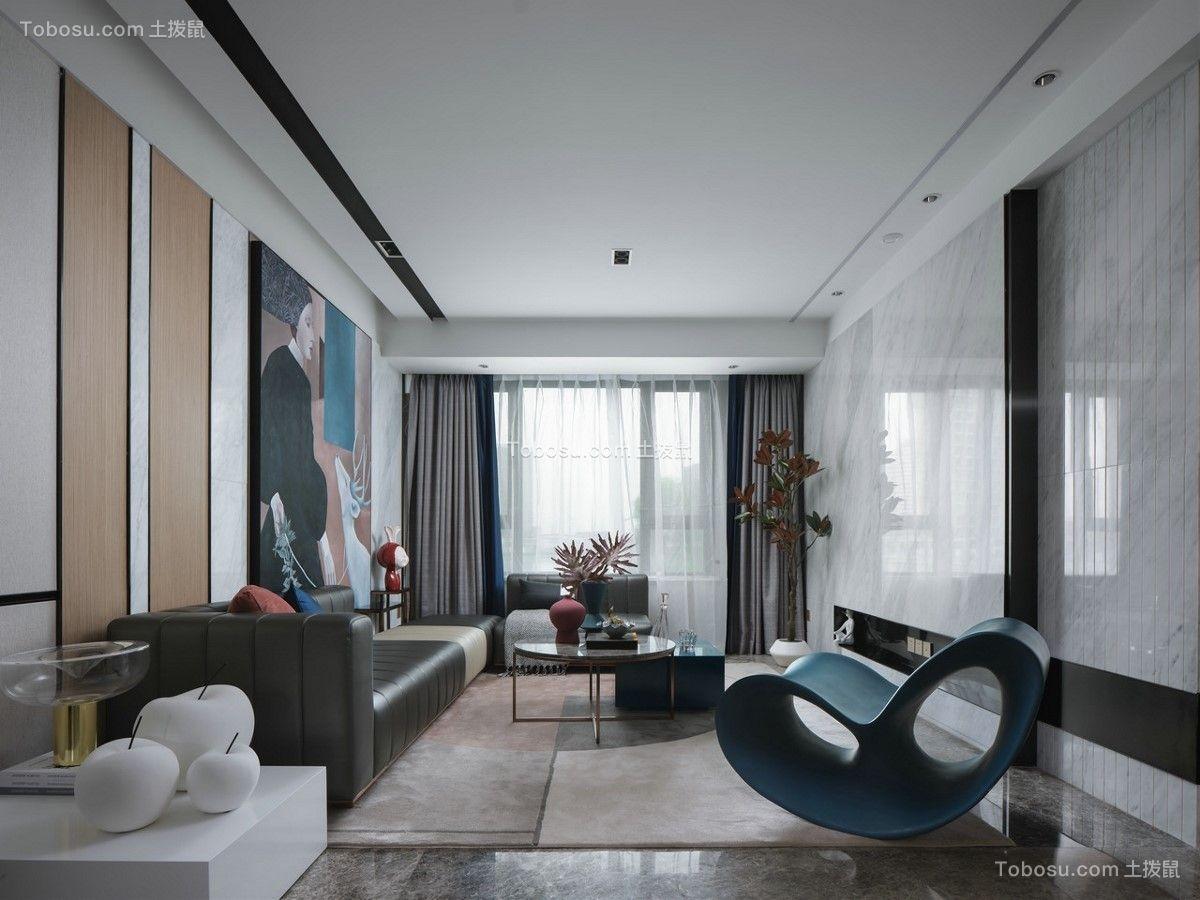 2021现代客厅装修设计 2021现代落地窗装修图片