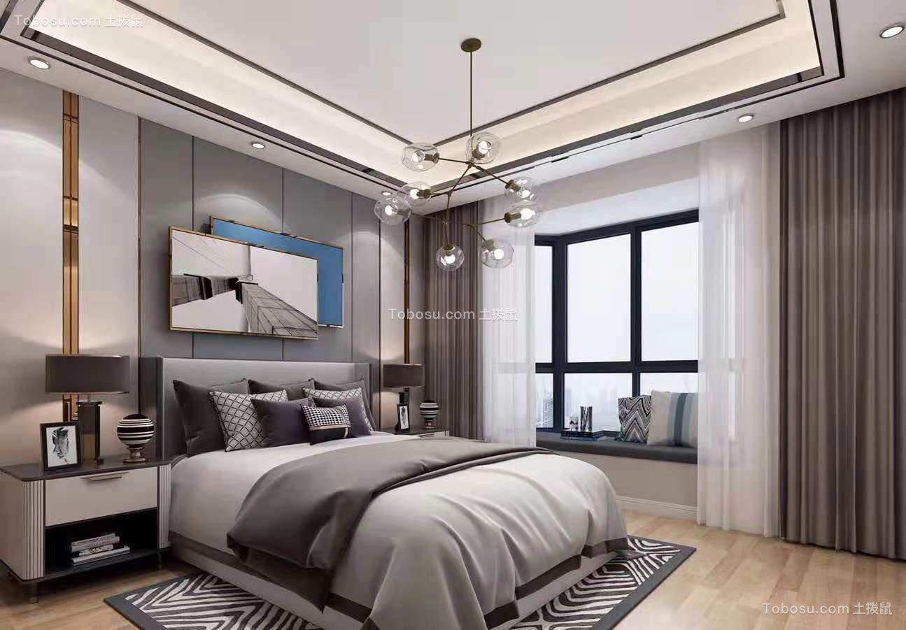 2019现代卧室装修设计图片 2019现代吊顶图片