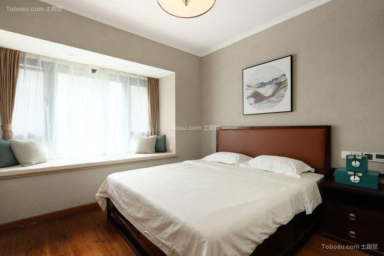 2020新中式卧室装修设计图片 2020新中式飘窗图片