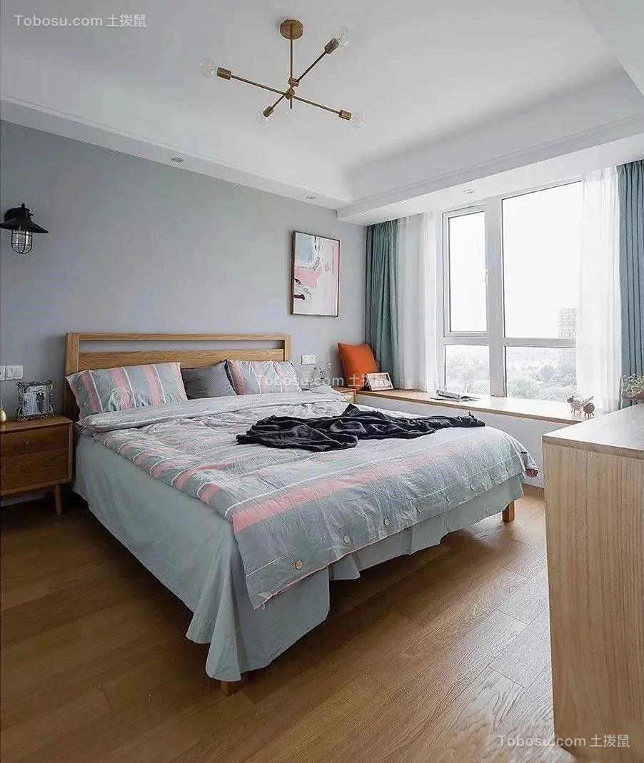 87平现代北欧三居室,全屋太清爽漂亮了,尤其喜欢阳台!
