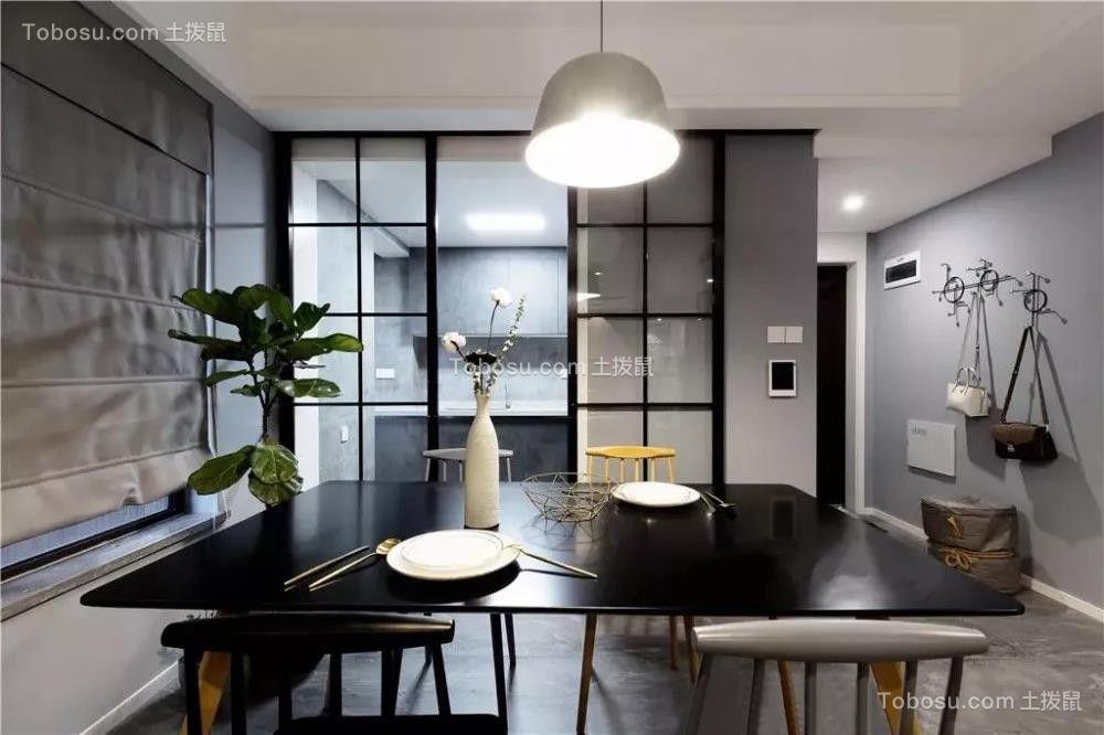100平米现代主义3室2厅,简约随性演绎质感生活