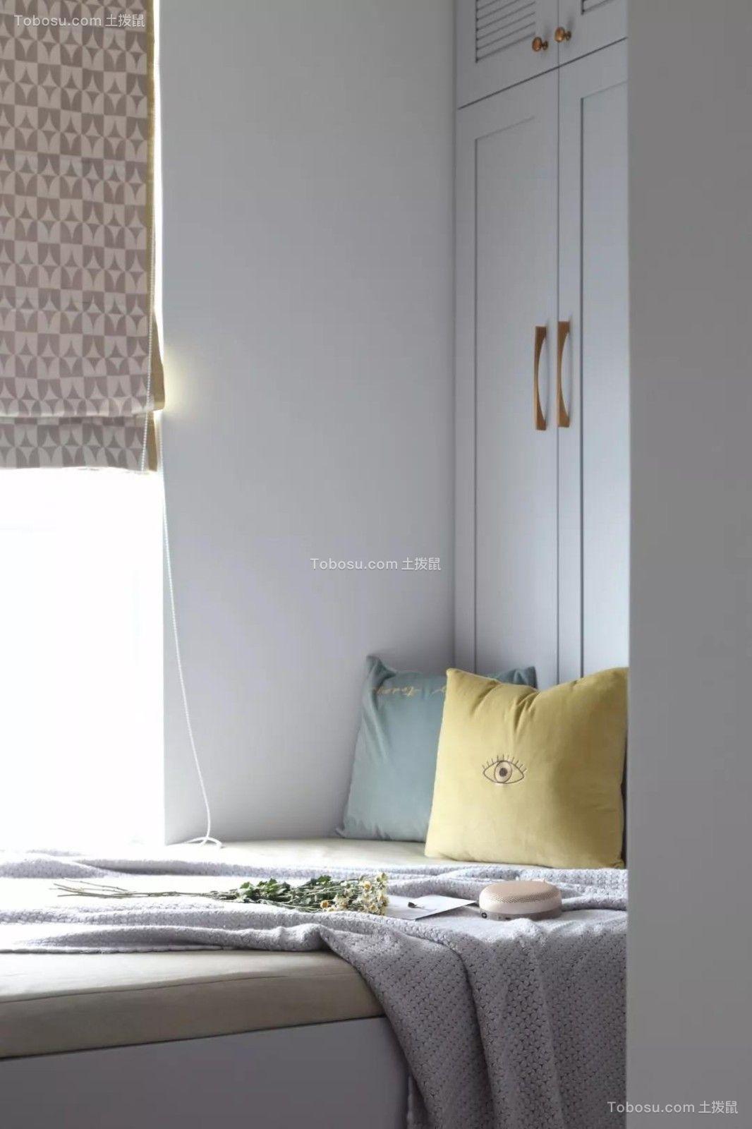 110平米灰调北欧3室2厅,温馨而浪漫的理想生活