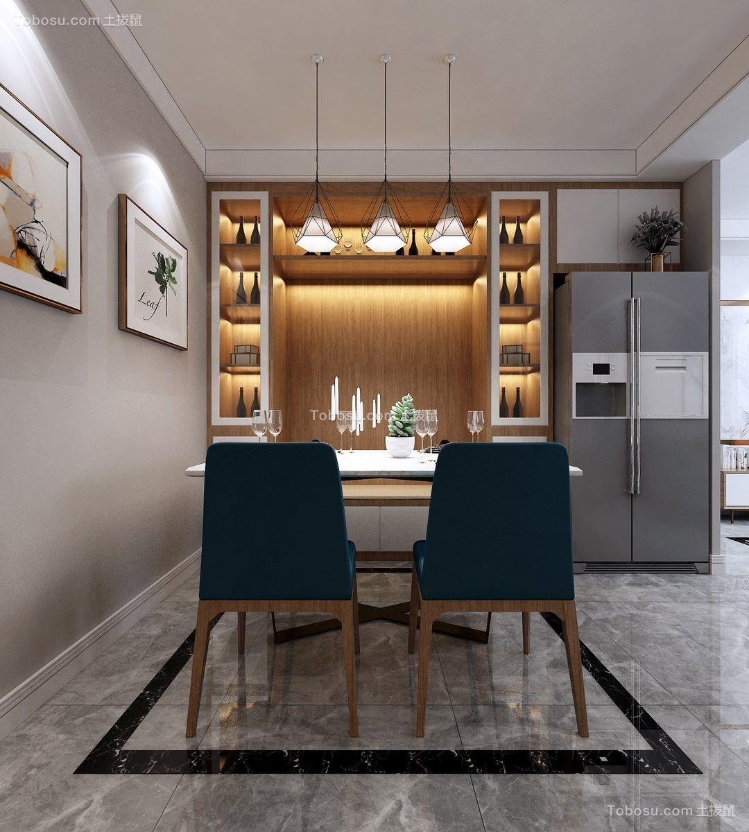 2021现代简约餐厅效果图 2021现代简约灯具装修效果图片