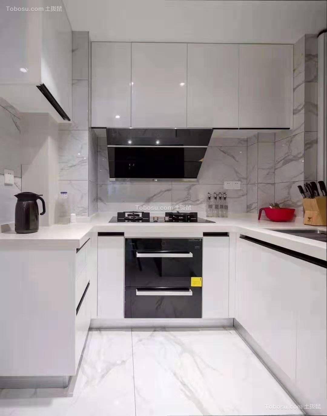 2021现代厨房装修图 2021现代灶台装修图片