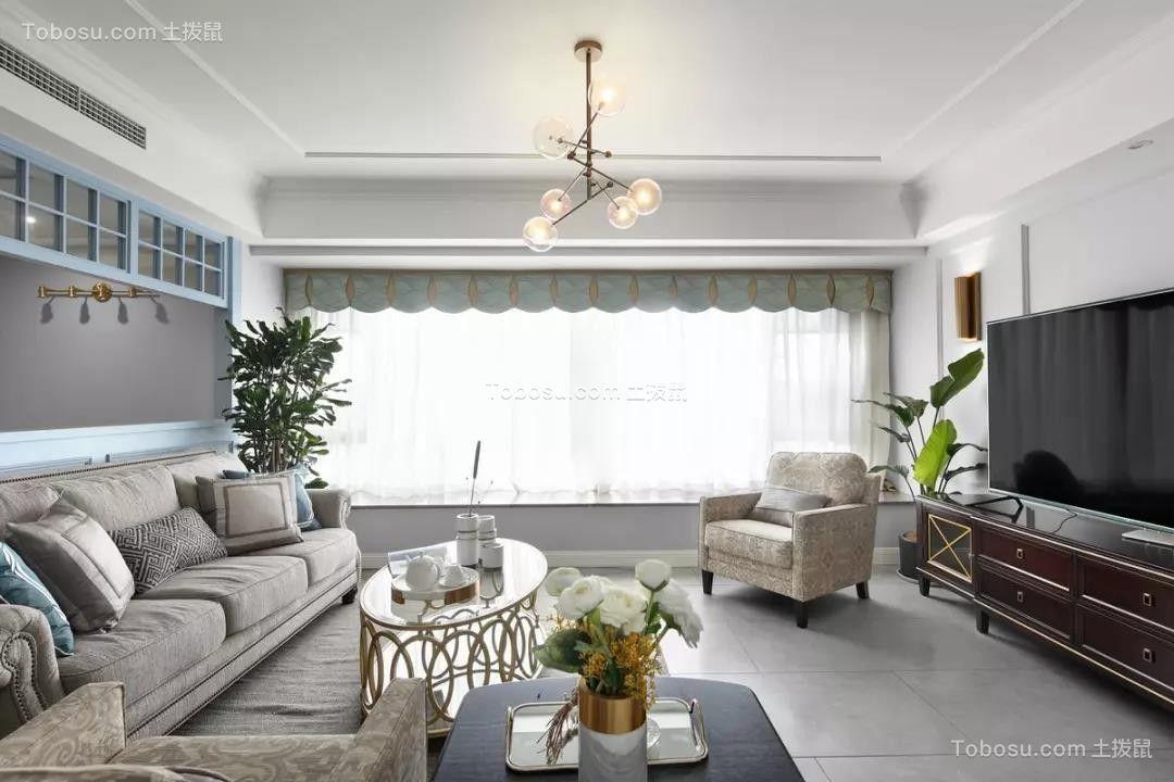 159㎡轻奢美式4室2厅,造就撩人心底的优雅生活