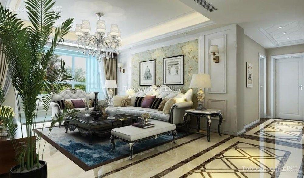 简欧三居室,恰到好处的华丽,雅致舒适!