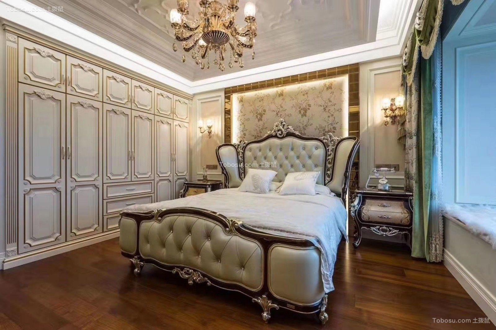 2019欧式卧室装修设计图片 2019欧式衣柜装修效果图片