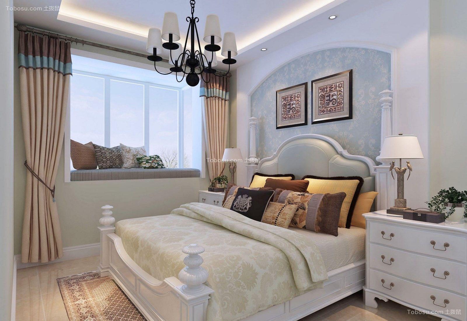 2020简欧卧室装修设计图片 2020简欧窗台装修设计图片