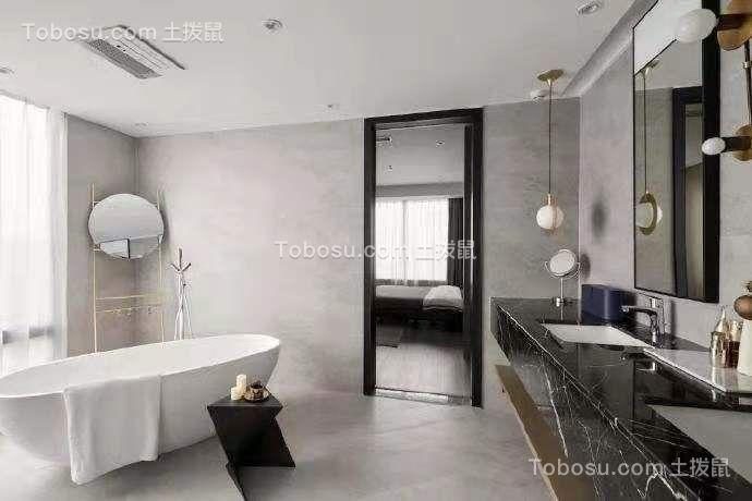 2019现代浴室设计图片 2019现代浴缸装修效果图大全