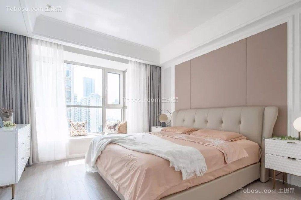 2021美式卧室装修设计图片 2021美式床图片