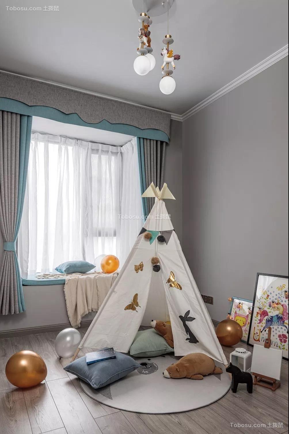 2020美式儿童房装饰设计 2020美式地板装修设计