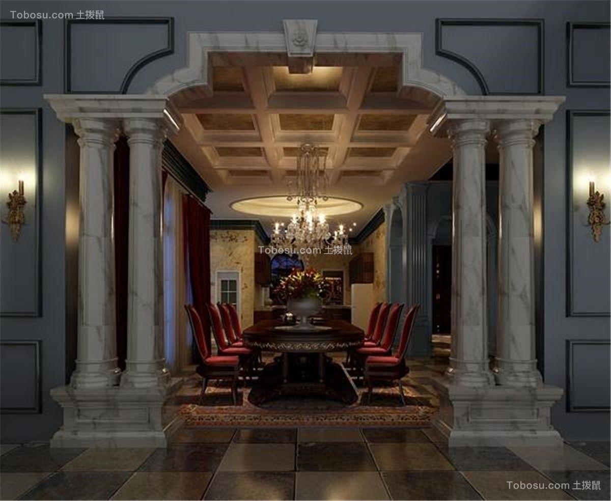 中星红庐别墅项目装修欧式古典风格