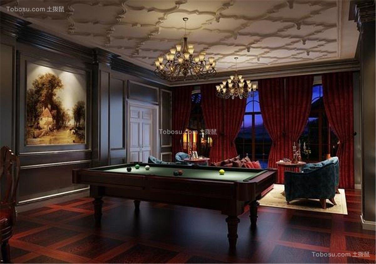 2019新古典客厅装修设计 2019新古典吊顶设计图片