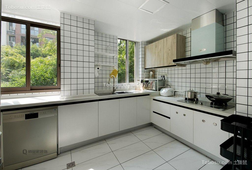 2019北欧厨房装修图 2019北欧背景墙装修效果图大全