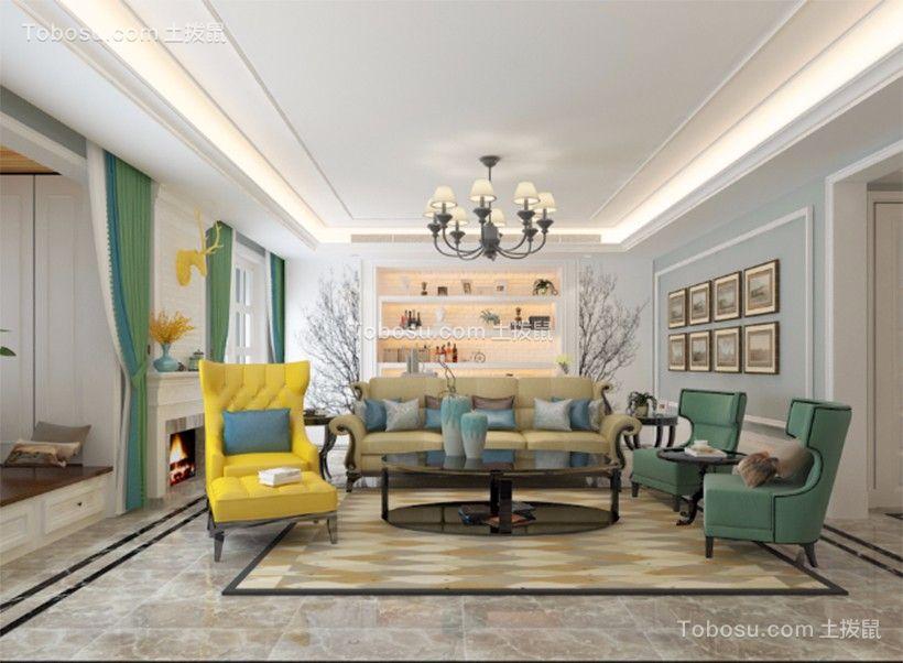 2020现代客厅装修设计 2020现代地砖装修效果图大全