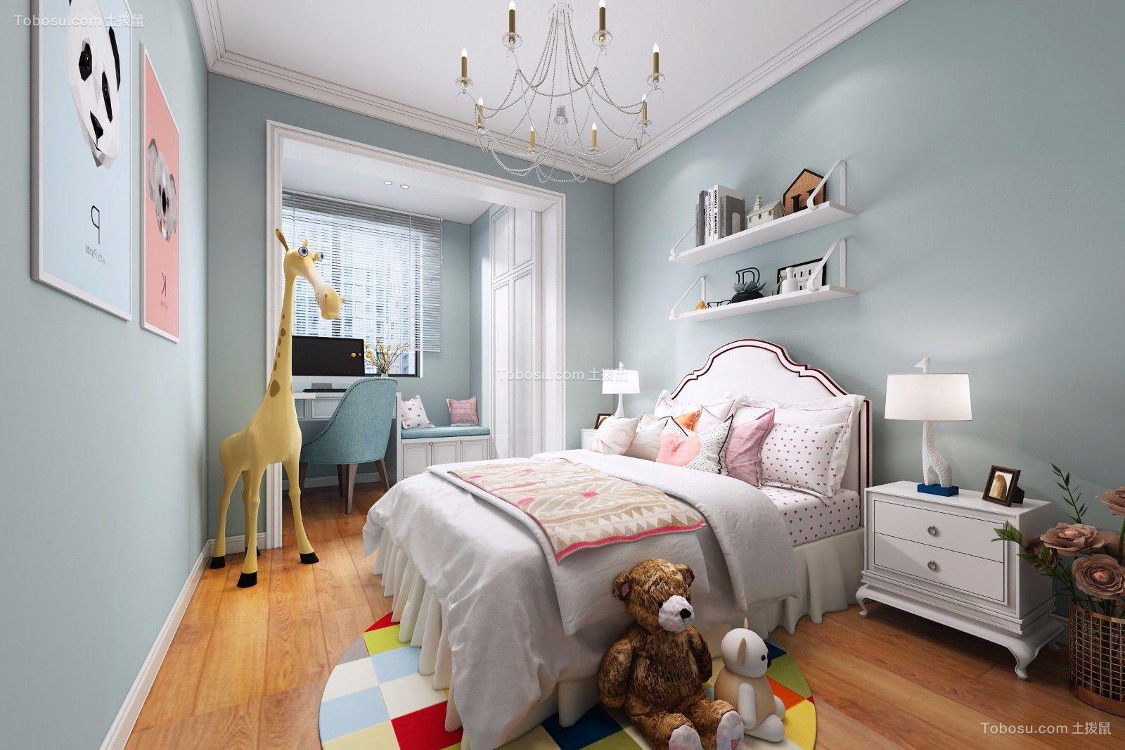2020简欧儿童房装饰设计 2020简欧床效果图