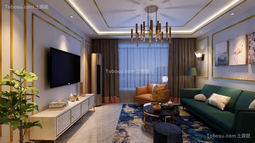 2019地中海客厅装修设计 2019地中海茶几效果图