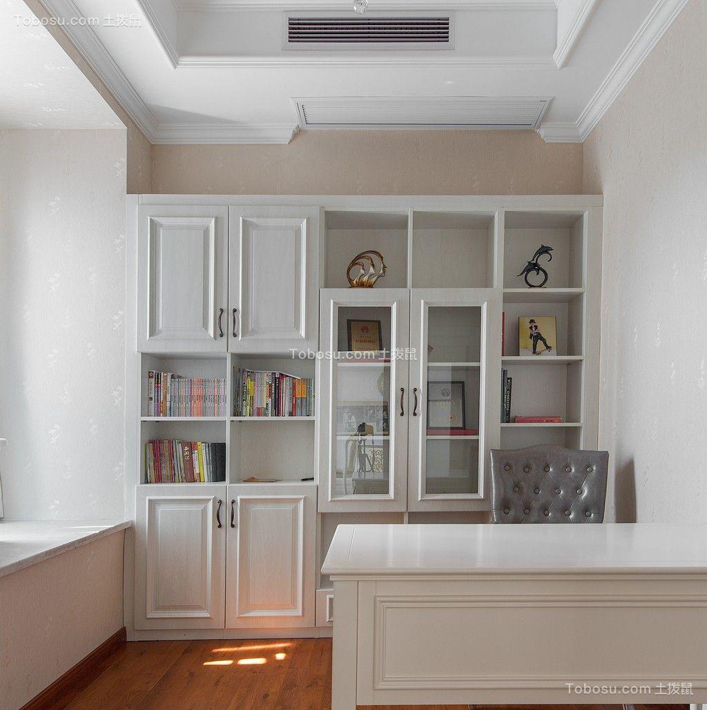 2021简欧书房装修设计 2021简欧背景墙装修效果图片