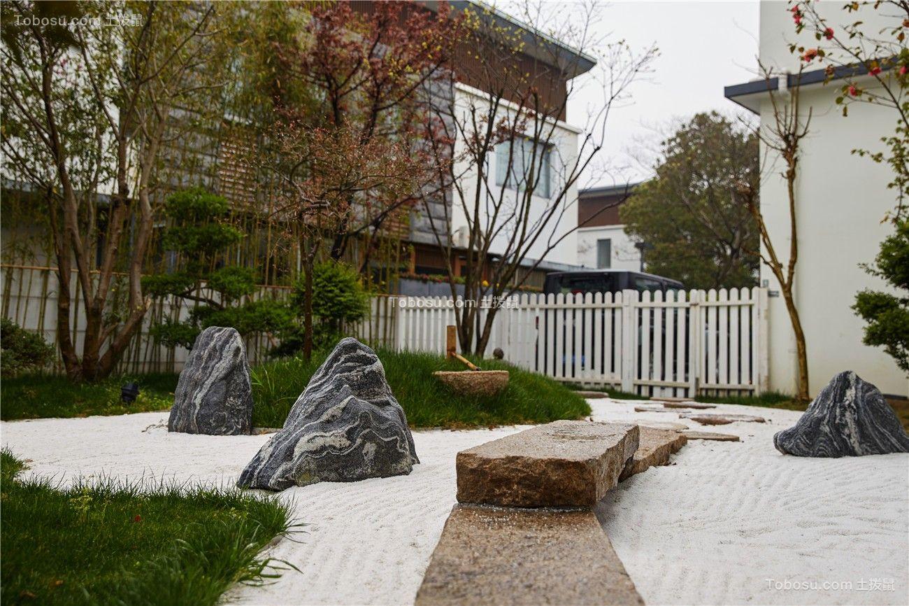 青浦湖畔佳苑独栋别墅中式风格完工实景
