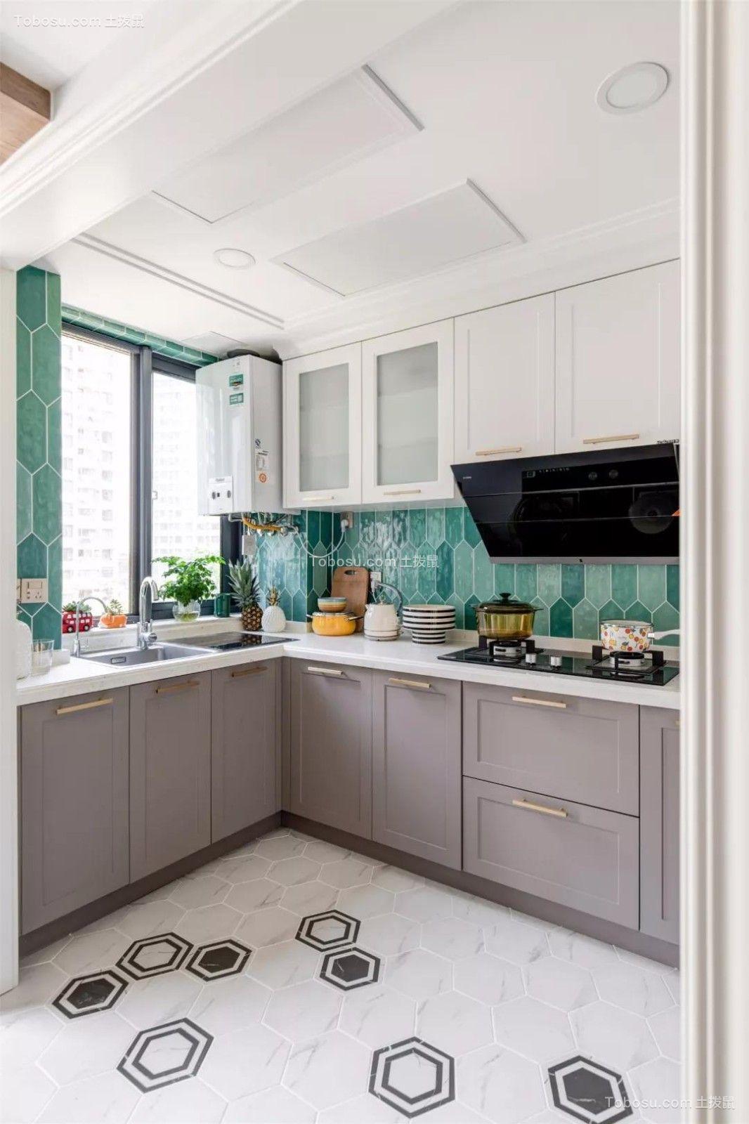 2019法式厨房装修图 2019法式地板装修效果图大全