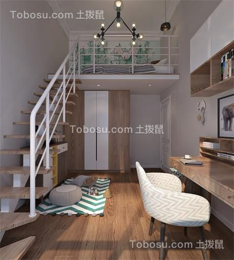 2021简欧卧室装修设计图片 2021简欧阁楼装修效果图片