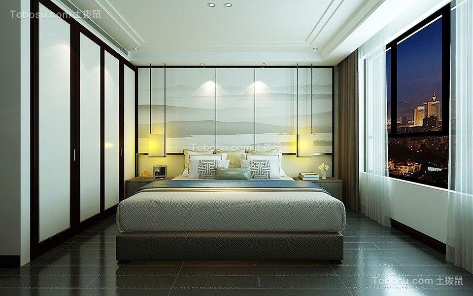 2021新中式卧室装修设计图片 2021新中式背景墙装饰设计