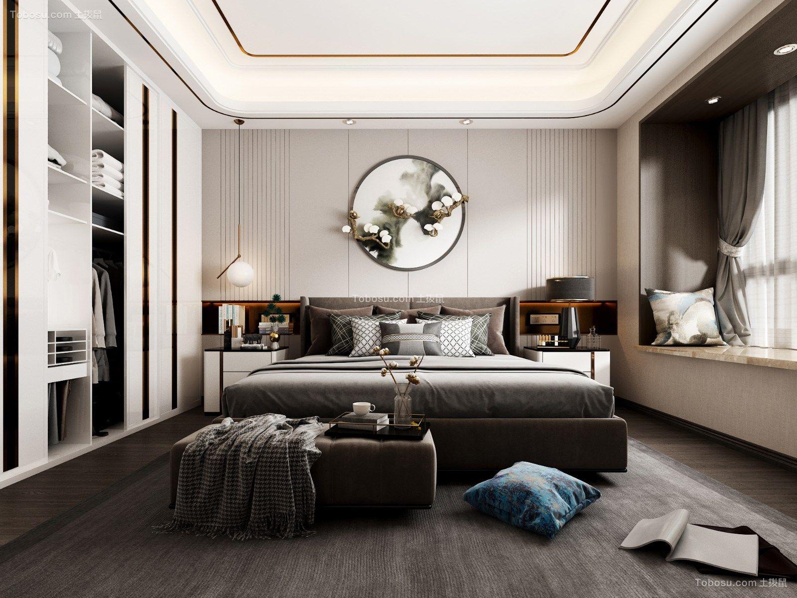 2019现代简约卧室装修设计图片 2019现代简约背景墙装修设计