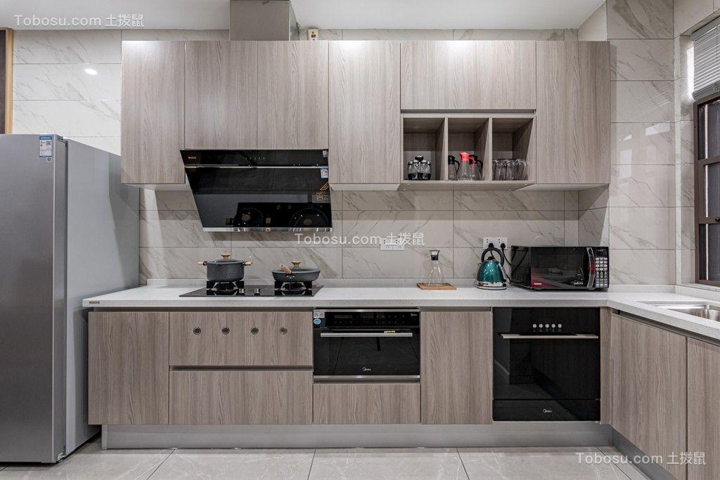 2021现代厨房装修图 2021现代背景墙装修效果图大全