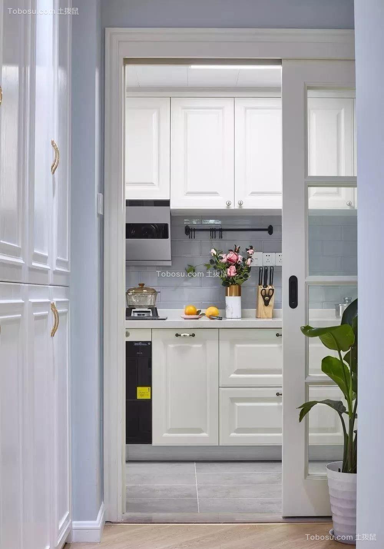 2021美式厨房装修图 2021美式背景墙装修效果图大全
