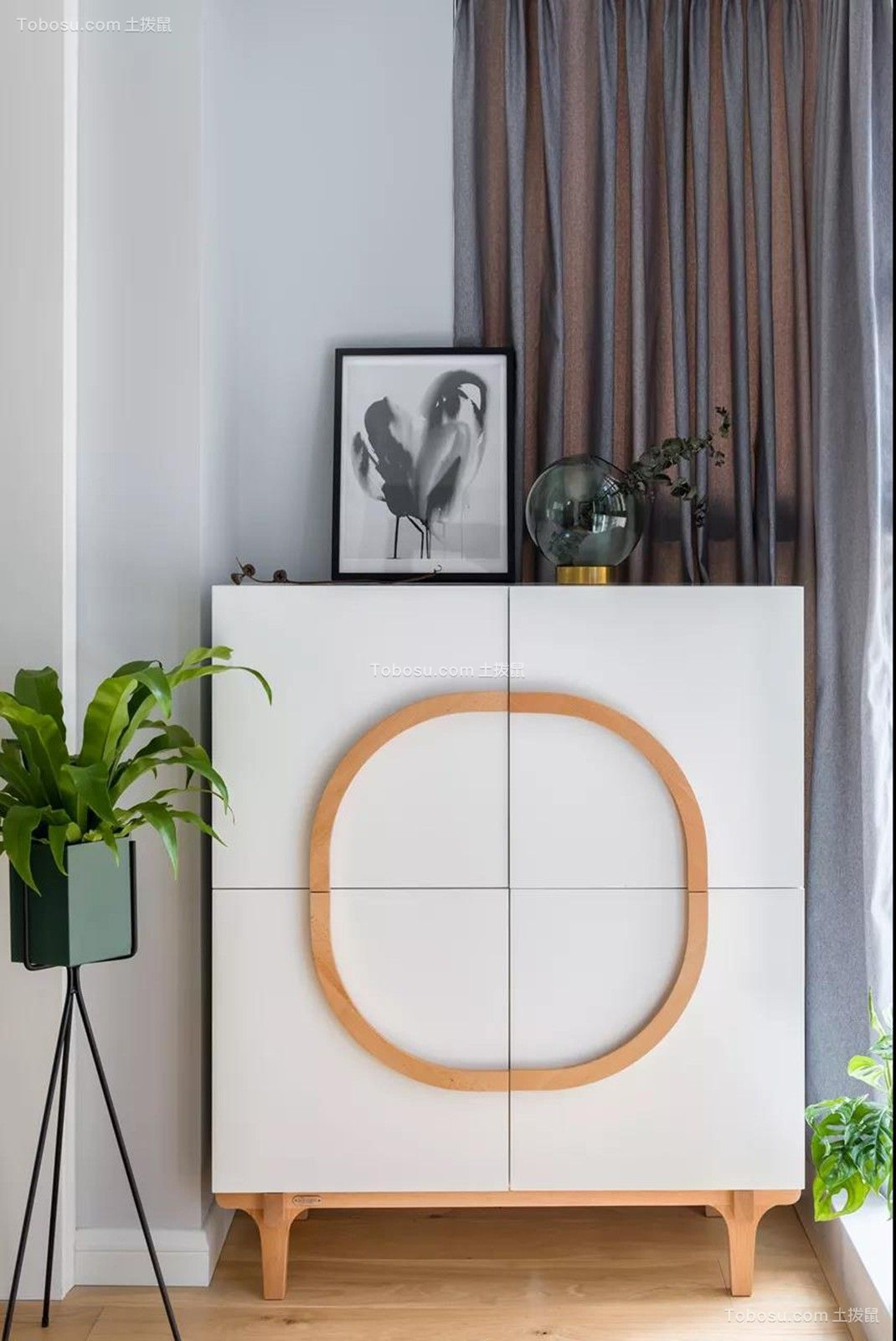 怡景苑  124㎡北欧风3室2厅时尚优雅,美到窒息的高颜值设计!
