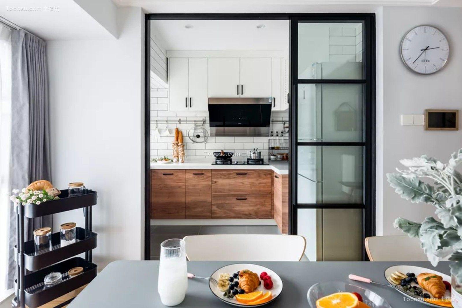 2019欧式厨房装修图 2019欧式推拉门装修设计