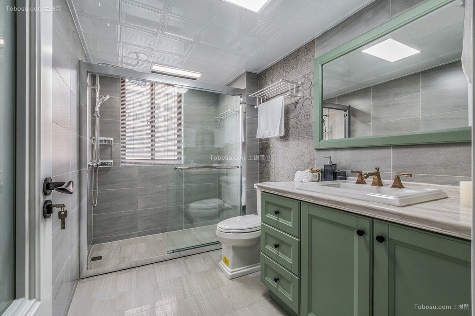 锦绣江南  143平米 美式三居,电视墙太个性,餐厅阳台设吧台,漂亮又实用!