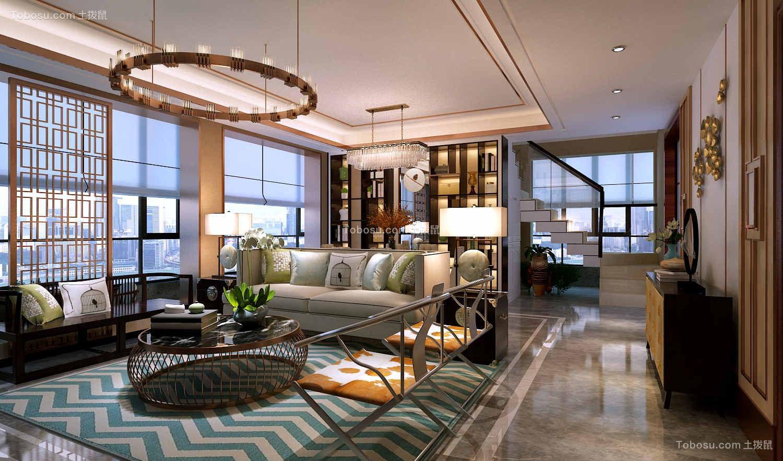 2019新中式客厅装修设计 2019新中式飘窗装饰设计