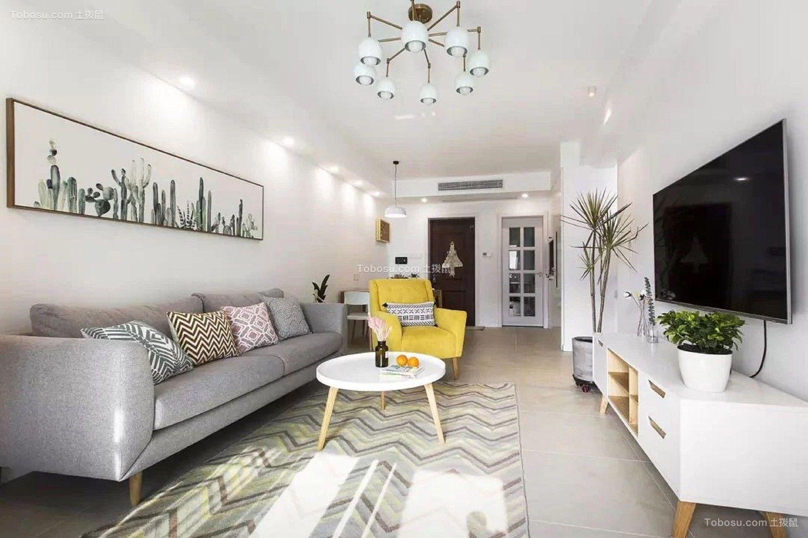 朝阳财富中心  112㎡北欧两居室,简单明净,尽显艺术风!