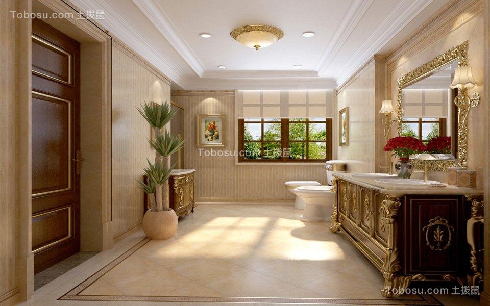 2020欧式浴室设计图片 2020欧式洗漱台装修设计