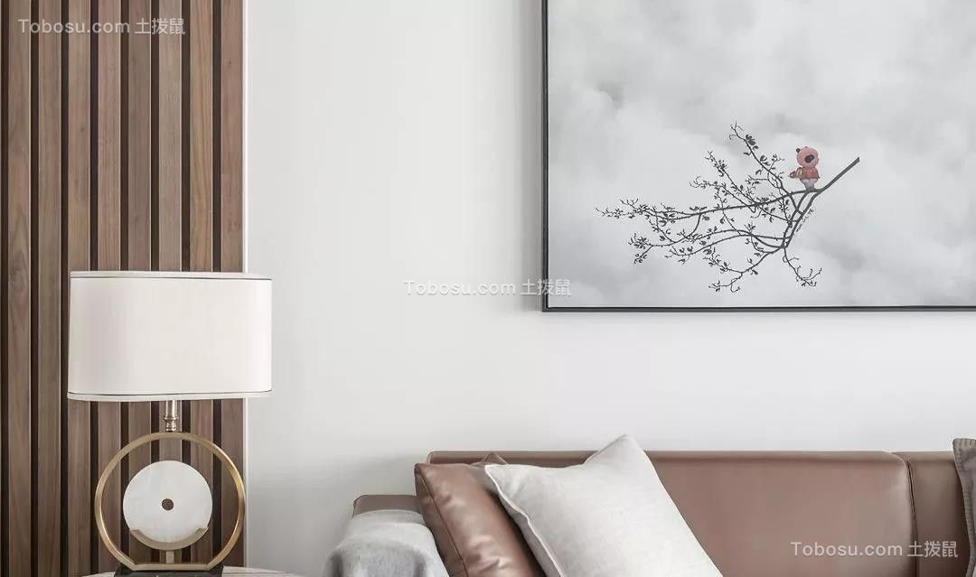 2019新中式客厅装修设计 2019新中式背景墙图片