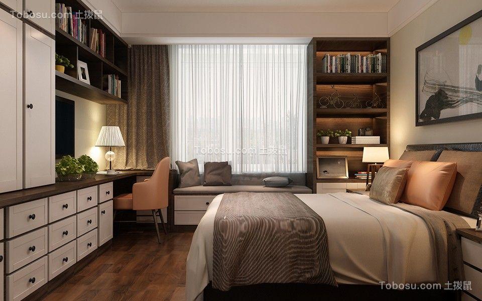 2019新中式卧室装修设计图片 2019新中式梳妆台装修设计