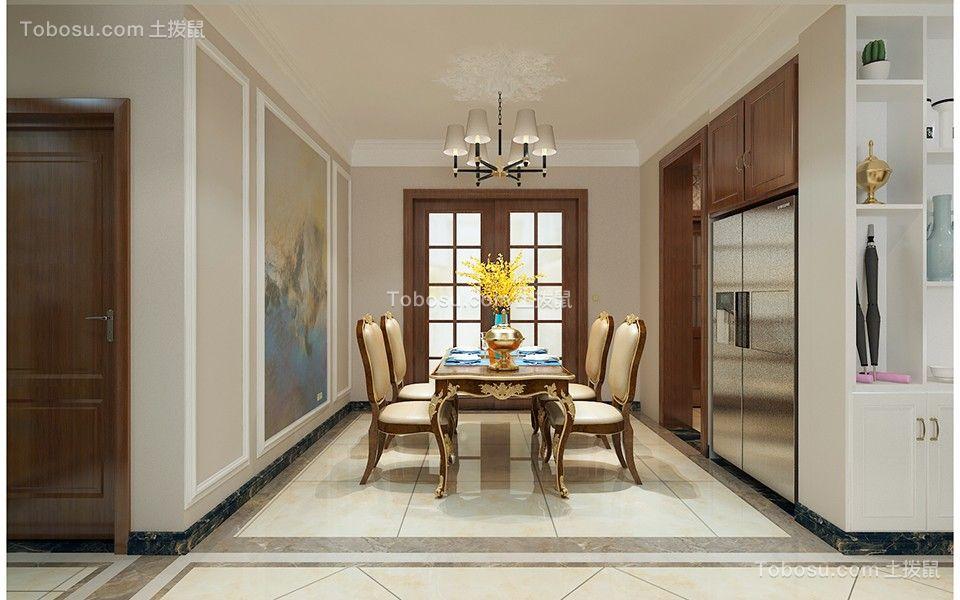 2020美式厨房装修图 2020美式推拉门装修设计
