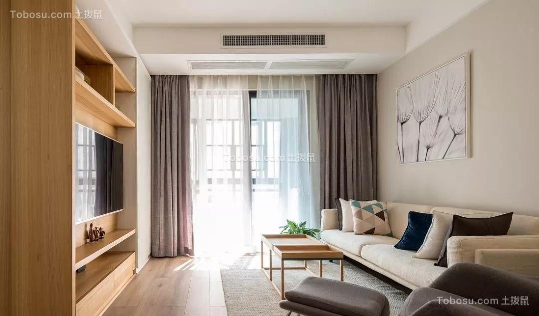 96㎡现代简约风格装修,温馨实用又有格调的家!| 简约风格装修