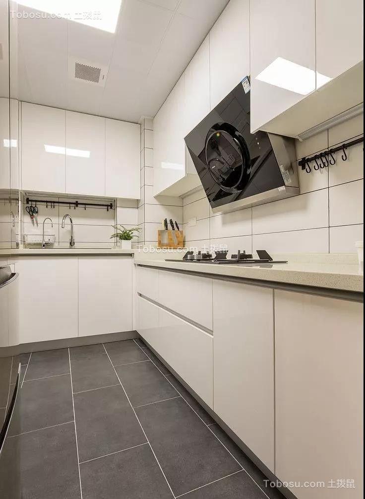 2021现代简约厨房装修图 2021现代简约厨房岛台装饰设计