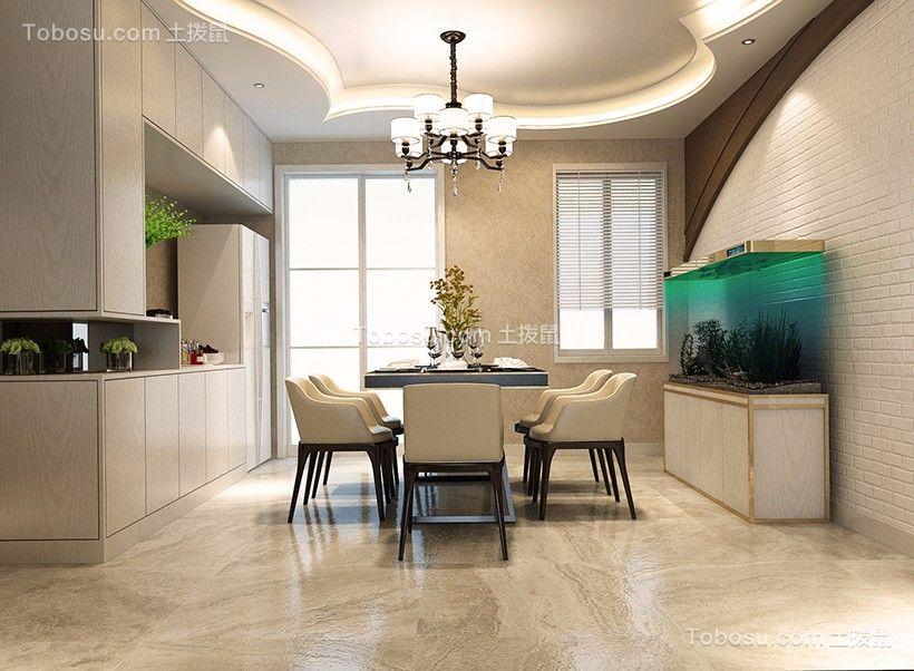 2020现代餐厅效果图 2020现代地板装修效果图片